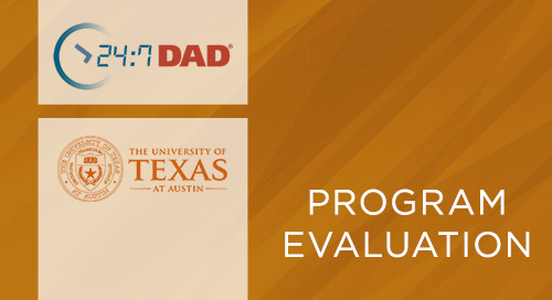 24:7 Dad® UT Austin Evaluation on Reducing Risk of Child Abuse and Neglect (2017)
