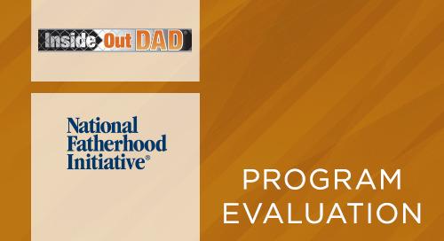National Fatherhood Initiative InsideOut Dad® Program (2008)