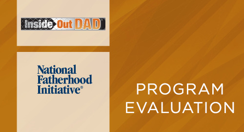 InsideOut Dad® Guide to Family Ties Pre-Post Test Evaluation Report (2013)