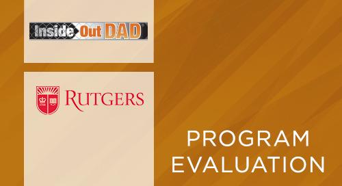 InsideOut Dad® Rutgers Univ. Study: Newark Community Education Center Residents (2012)