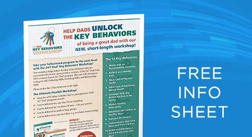 24:7 Dad® Key Behaviors Workshop Info Sheet
