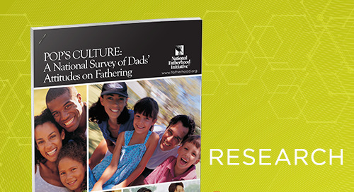 Pop's Culture > A National Survey of Dads Attitudes on Fathering