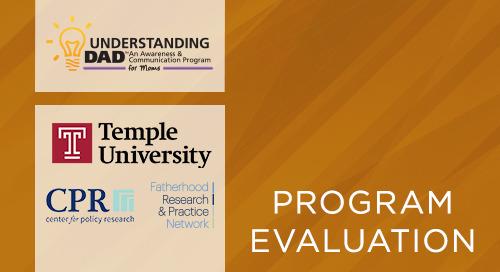 Understanding Dad™- Five-Site Evaluation (Qualitative Portion-Peer Reviewed) (2020)