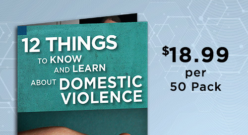 [Brochure] 12 Things to Know & Learn About Domestic Violence