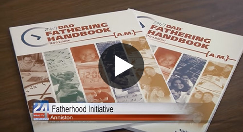 Anniston's Fatherhood Initiative Encourages Community to Get Involved