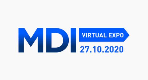 MDI Virtual Expo 2020  - Oct 27, 2020