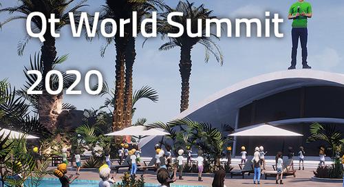 Qt World Summit 2020 Online - Oct 22, 2020
