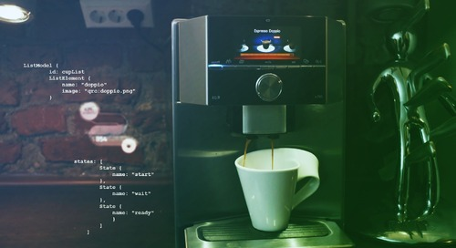 Level up your Business Intelligence for the next generation coffee machine - Oct 28, 2020