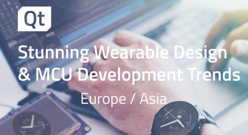 Stunning Wearable Design & MCU Development Trends - Sep 16, 2020