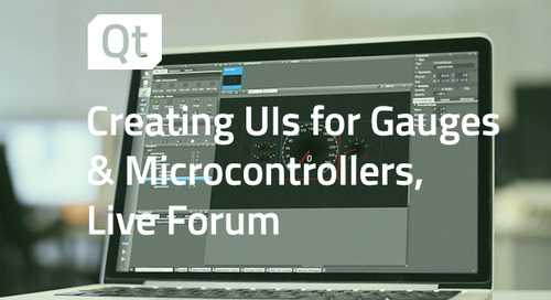 Creating User Interfaces for Gauges and Microcontrollers, Live Forum - Aug 19, 2020