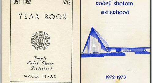 Documenting Women's Service: The Temple Rodef Sholom Sisterhood in Waco