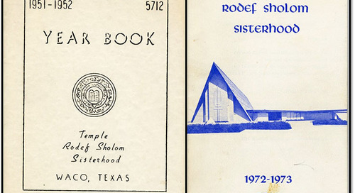 Documenting Women's Service: The Temple Rodef Sholom Sisterhood in Waco
