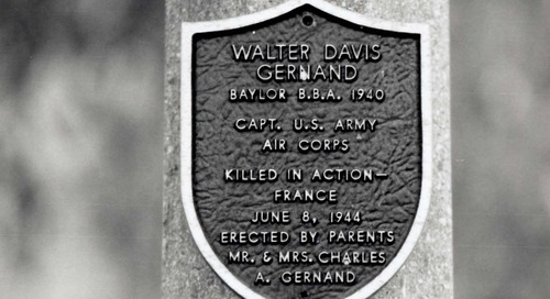 Soldiers of the Wooden Cross: Military Memorials at Baylor
