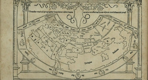 Print Peeks: Exploring the World with the Cosmographia Geographia
