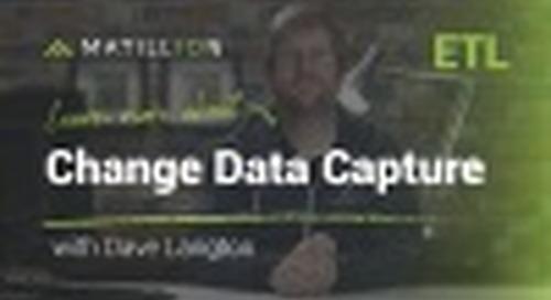 Setting Up Change Data Capture (CDC) in Matillion ETL