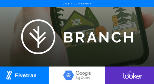 Branch Centralizes Transactional Data for Reporting