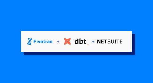 Announcing Fivetran dbt for NetSuite