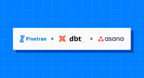 Announcing the Fivetran dbt Package for Asana