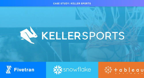 Keller Sports Saves 50% of IT Time With Fully Managed Pipelines
