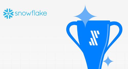Fivetran Garners Top Performer Award From Snowflake