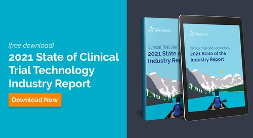 2021 State of Clinical Trial Technology Industry Report