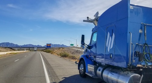 Self-driving tractor-trailer truck startup valued at $1 billion - CNBC