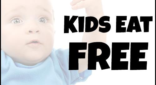 Top 10 Restaurants Where Kids Eat FREE