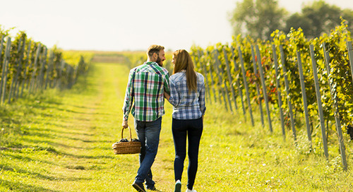 Great Escapes:  A Romantic Wine & Cherries Weekend Getaway