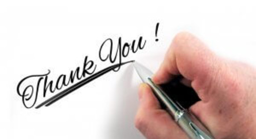 How to say 'Thank You' to your donors