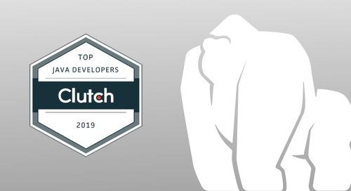 Clutch Names Gorilla Logic as a Leading Java Developer