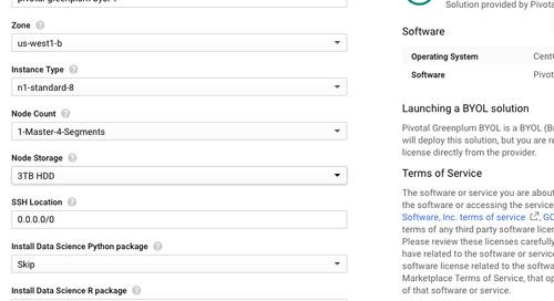 Install Greenplum Database on GCP!