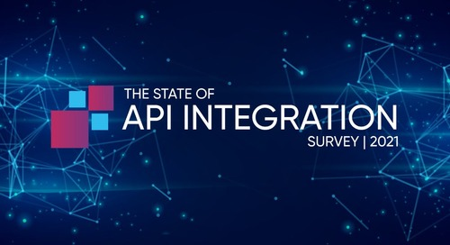 API Integration in 2021 & a Recap From 2020