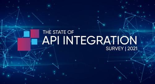 API Integration in 2021 & a Recap From 2020