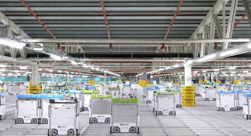 How Online Grocer Ocado Is Automating Warehouses Using Swarms of Robots - SPONSOR CONTENT FROM OCADO
