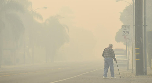 Polluted air, health problems brought by Southern California fires are expected to linger