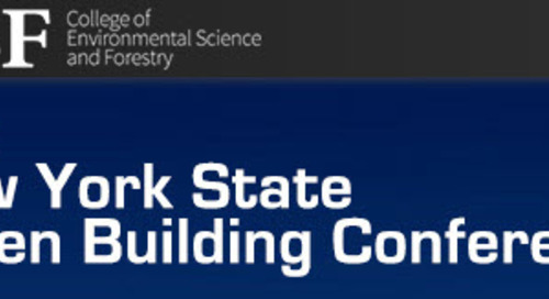 16th Annual New York State Green Building Conference April 5 – April 6