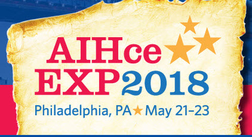 Live stream from AIHce in Philadelphia