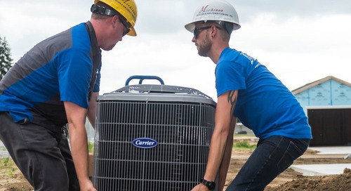 Carrier Donates High Efficiency Home Comfort Systems for Habitat for Humanity® of St. Joseph County's First Net Zero Homes