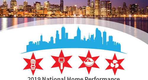 2019 National Home Performance Conference and Trade Show