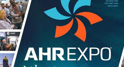 AHR Expo returns to Atlanta