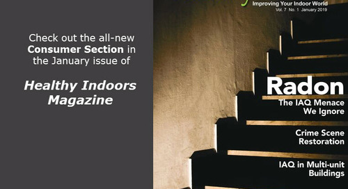Healthy Indoors Magazine – Jan 2019 Digital Edition