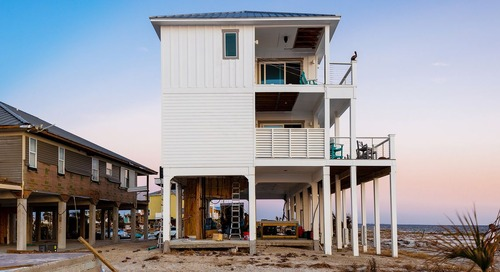 Hurricanes Destroy Beachside Homes, But Not This One