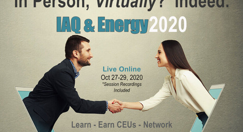 IAQ & Energy 2020 Conference