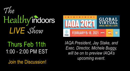 This Week on Healthy Indoors LIVE