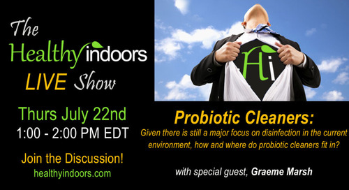 Today on the Healthy Indoors LIVE Show at 1 PM EDT