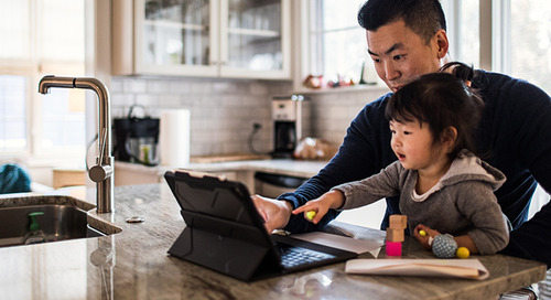 Working Dads Feel They Can Have it All