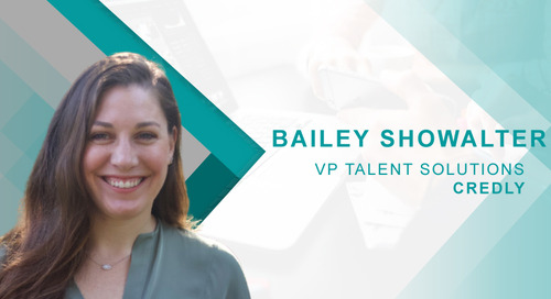 HRTech Cube: A Talent Management Insights Q&A with Credly's Bailey Showalter