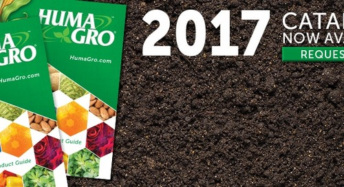 Huma Gro® 2017 Product Catalog Released