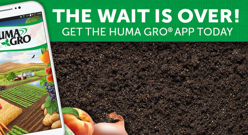 Huma Gro® App Released for iOS Smart Phones