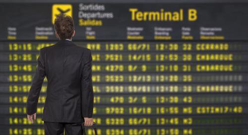 Wirus szyfrujący blokuje międzynarodowe lotnisko